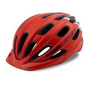 Capacete Ciclismo Bike Giro Hale Pro Vermelho Fosco 50-57