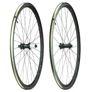 Par de Rodas Brave Road Disc GR35D Black 700c Eixo 12mm Tubeless