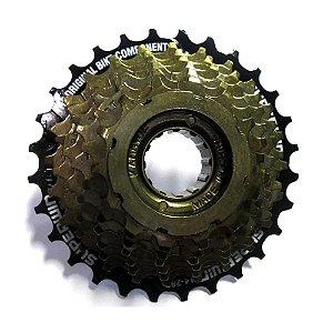 Catraca Roda Livre 7 Velocidades 14/28 Dentes Bike Mtb