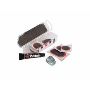 Kit Remendo Zefal Universal Vulcanizado Cola S/ Espatulas 6119
