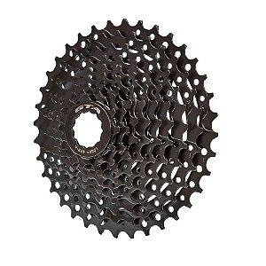 Cassete K7 9v 11/36 Dentes Preto Gta 27 Velocidades Bike