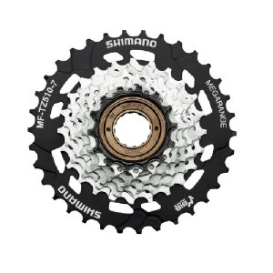 Catraca Roda Livre Tourney Shimano Mf-tz510 14/34d Bike 7v