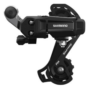Câmbio Traseiro Shimano Tourney RD-TY200-GS 3x6/7 Velocidades sem Gancheira