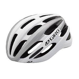 Capacete Ciclismo Bike Giro Foray Mips Branco Prata