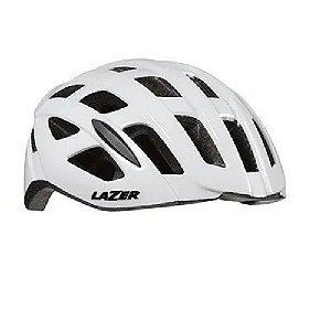 Capacete Ciclismo Speed Lazer Tonic Branco LZB-10