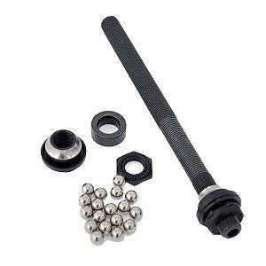 Eixo Completo Cubo Shimano Axle FH-M529 146 mm c/ esferas