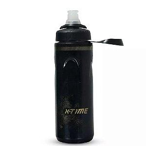 Garrafa Caramanhola Térmica X-Time Spin Preta 680 ml