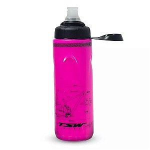 Garrafa Caramanhola Térmica TSW Spin Rosa 680 ml