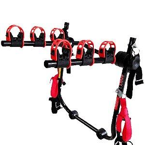 Suporte Porta Malas Transbike Universal 3 Bikes PTK Alumínio