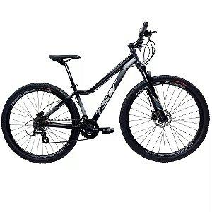 "Bicicleta TSW Posh Plus 24v. 15,5"" Preta"
