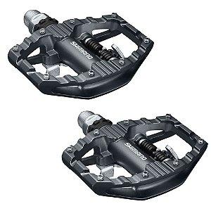 Pedal Shimano SPD PD-EH500 Plataforma Clip Com Taco