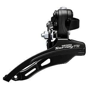 Cambio Dianteiro Shimano Tourney FD-TZ510 3V 31,8mm