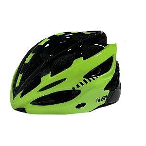 Capacete Bike Epic Line Ep-mv50 Preto e Amarelo - G