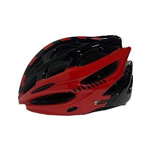 Capacete  Bike Epic Line Ep-mv50 Vermelho e Preto - P