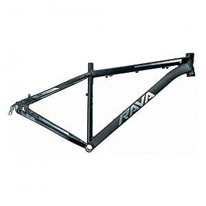 Quadro 29 Bike Mtb Rava Pressure Preto/Cinza 17