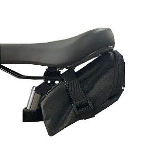 Bolsa de Selim Bike Mtb Speed Próbike Combat - Preta