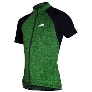 Camisa Ciclismo Masculina Manga Curta Sol Sports Verde Fluor Tam P