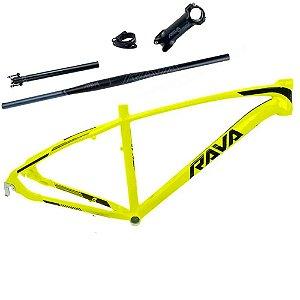 Quadro Bicicleta Bike Mtb TSW Rava Storm Aro 29 com Kit - 15.5