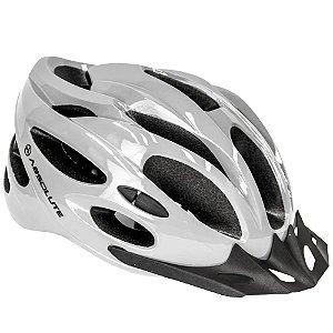 Capacete Ciclismo Bike MTB Absolute Nero Cinza Tam G