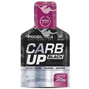 Carb Up Black Gel Probiótica Energy Blend Guaraná com Açaí 30g - Unidade