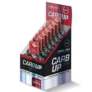 Kit 10 unidades Carb Up Black Gel Probiótica Energy Blend Morango