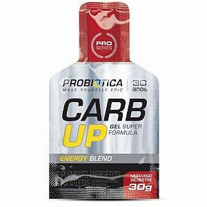 Carb Up Gel Super Fórmula Probiótica Energy Blend Morango 30g - Unidade