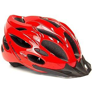 Capacete Ciclismo Bike Mtb Absolute Nero Vermelho - M