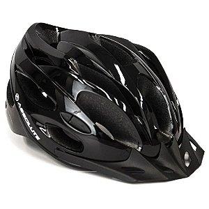 Capacete Absolute Nero Preto Ciclismo Led Sinalizador - G
