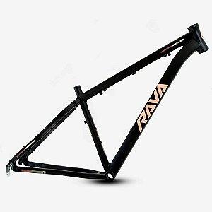 Quadro 29 Bike Mtb Rava Pressure Preto/Flamingo 17