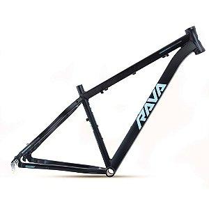 Quadro Aro 29 Bike Mtb Rava Pressure 19 Preto/Azul