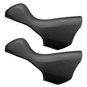 Capa de borracha para STI Shimano 105 ST-5700 Direito/Esquerdo Preto