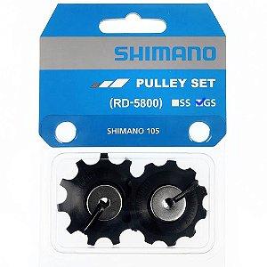 Roldana Câmbio Traseiro Shimano 105 RD-5800 GS 11 Velocidades