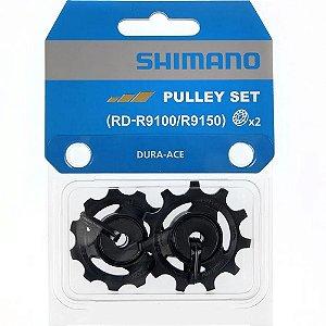 Roldana Polia Câmbio Traseiro Tensão e Guia Shimano Speed Dura-Ace RD-R9100/RD-R9150
