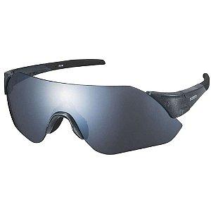 Óculos Ciclismo Shimano Aerolite CE-ARLT1 Cinza Transparente com Duas Lentes