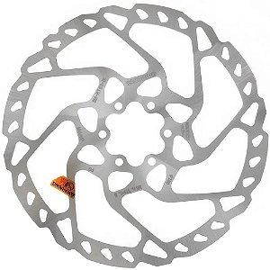 Disco Rotor de Freio Shimano SLX Deore SM-RT66 180mm 6 Furos