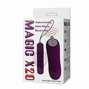 Vibrador Wireless Controle Remoto de 20 Vibrações -  boutique erotica ideia sexy