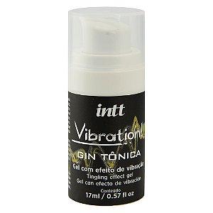 VIBRATION GIN TÔNICA GEL VIBRANTE 17ML INTT