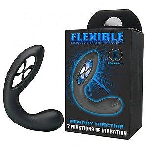 Estimulador de Próstata Recarregável com 7 Modos de Vibração - FLEXIBLE FABULOUS VIBRATION FREEQUENCY - VB042