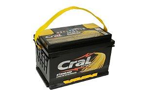 Bateria Cral 70Ah CS70D - Linha Standard.