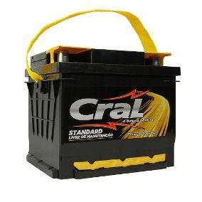 Bateria Cral 45Ah CS45D - Linha Standard.