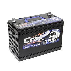 Bateria Cral 90Ah CL90ND/CL90NE - Linha Top Line (Cx. Alta)