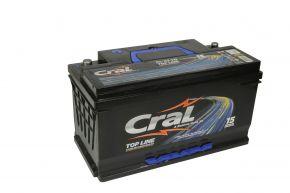 Bateria Cral 95Ah CL95VD - Linha Top Line