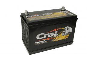 Bateria Cral 100Ah CSB100-E - Linha Standard.