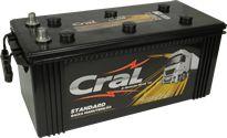 Bateria Cral 150Ah CSB150-D - Linha Standard.