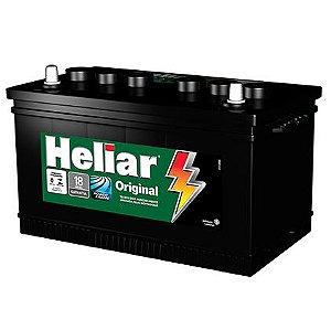 Bateria Heliar 75Ah – HG75LD Original de Montadora ( Cx. Alta )