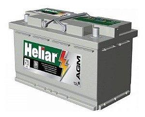 Bateria Heliar AGM 70Ah - AG70PD -  C/ Start-Stop