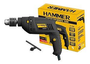 Furadeira Hammer 3/8 550W 127V