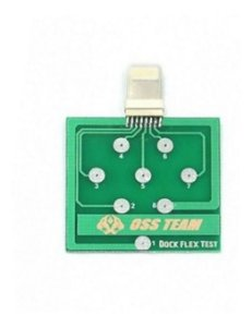 Placa de Teste Dock Flex para Diagnostico Tristar U2 e Conetores de Iphone