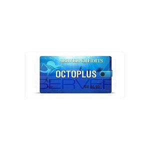 Pacote com 100 Créditos Octopus / Octoplus