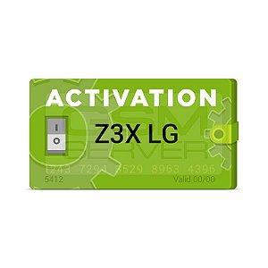 Ativação Z3X LG Tool